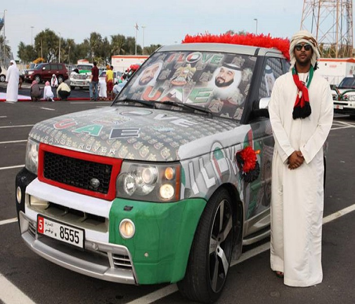 UAE National Day Car Wallpapers