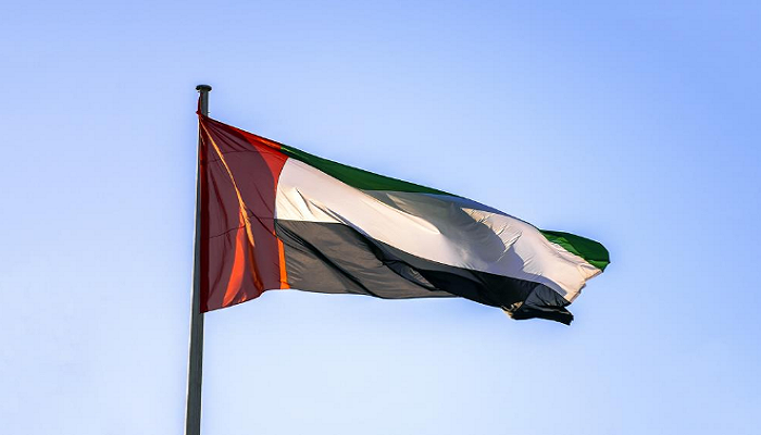 Flag Image Of UAE