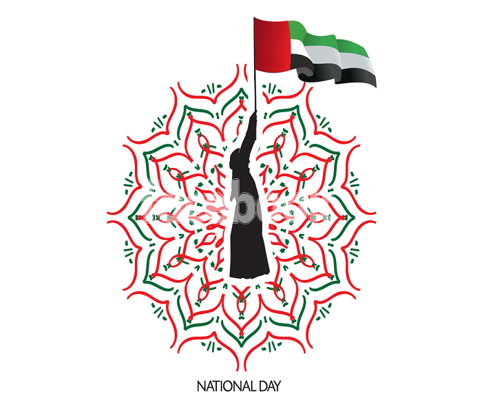 UAE National day Logos