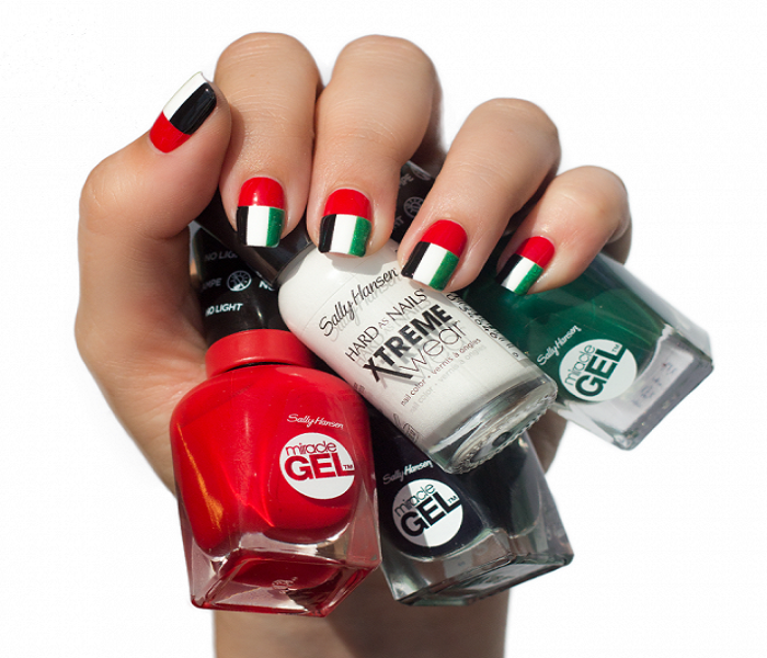 29+ UAE National Day Nail Art Ideas For Girls {Latest}