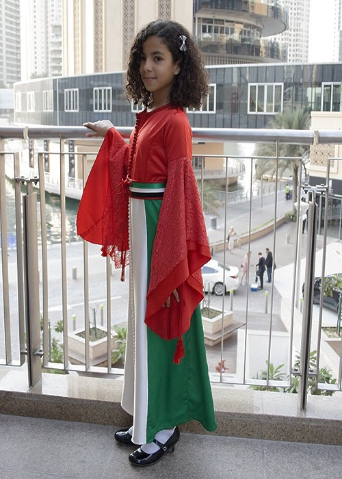 Flag Dress UAE