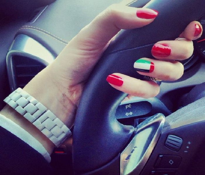 National Day Nail Art 2017