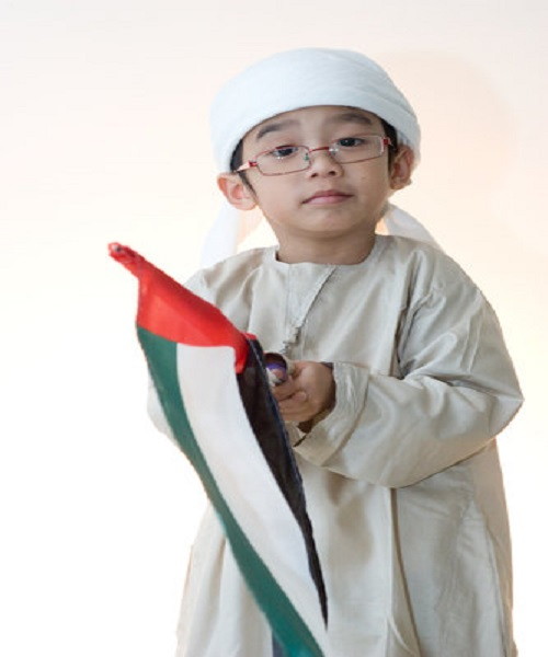UAE National Day Dress Ideas For Kids