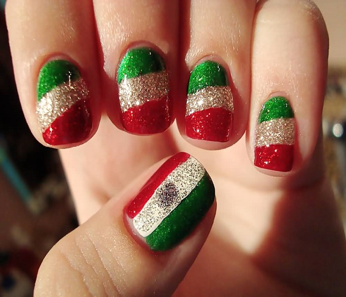 UAE National Day Nail Art