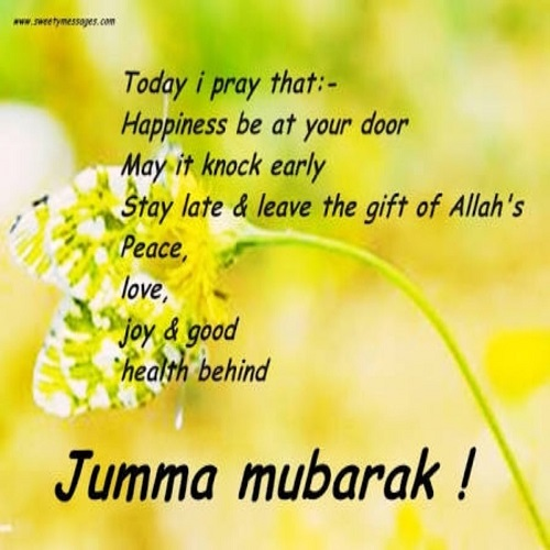 Best ever jumma mubarak images quotes wishes in 2018 latest today i pray that m4hsunfo