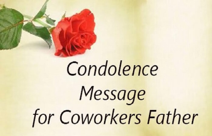 Condolence Messages For Loss Of Father