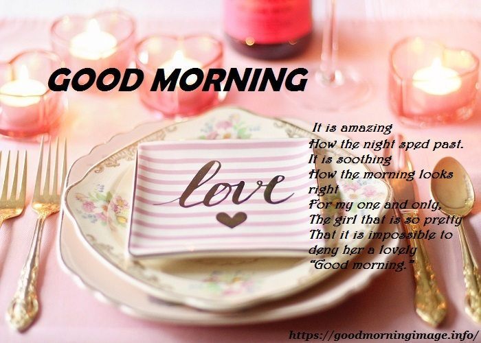 Good Morning Images For Her Love