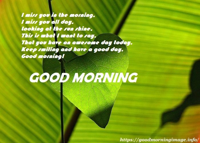 Good Morning Images For Him HD