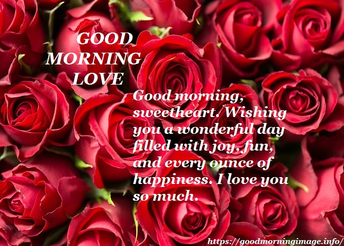 Good Morning Love Images 2022