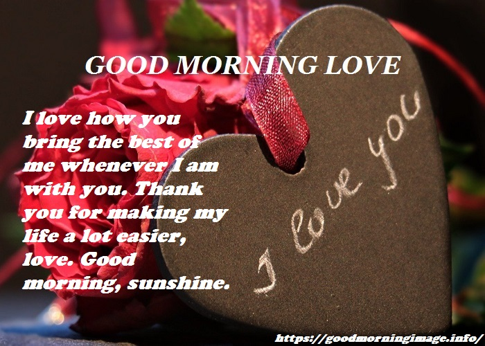 Good Morning Love Images Download