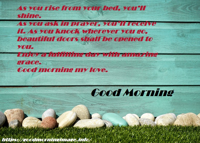 Good Morning Prayers Blessing Images