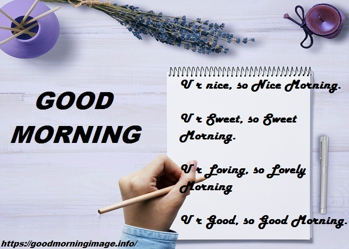 Good Morning SMS New