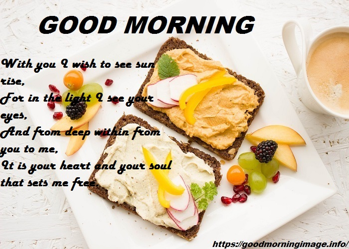 Good Morning SMS With Breakfast